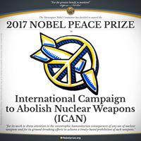 Friedensnobelpreis 2017 an ICAN –  live per Video