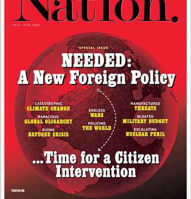 TheNation-Sonderausgabe: Warum wir einen grundlegenden Wandel der US-Außenpolitik brauchen