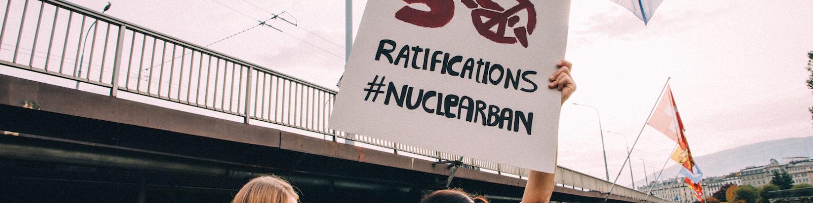 Am 22. Januar 2021 wird das UN- Atomwaffenverbot gültiges Völkerrecht: 50 Staaten haben  ratifiziert!
