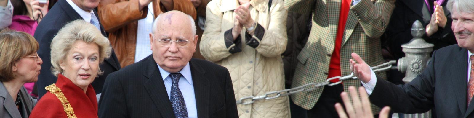 """Gorbatschow fordert """"eine neue Politik in ganz Europa – Russland eingeschlossen""""!"""