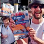 2. Juni 2018 in Berlin Abschlussdemonstration gegen Rüstungsexporte