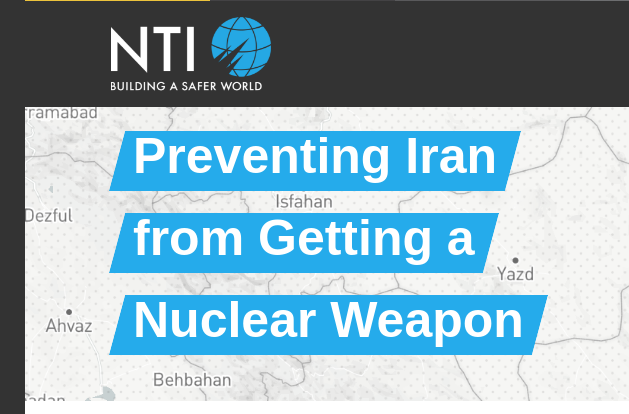 Screenshot der NTI-Seite