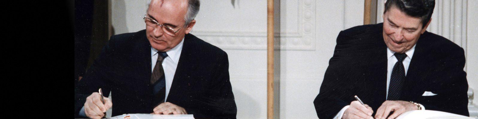 Michail Gorbatschow: Den INF-Vertrag retten!