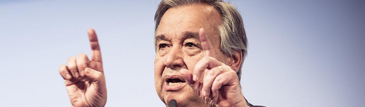 UNO-Generalsekretär fordert weltweiten Waffenstillstand