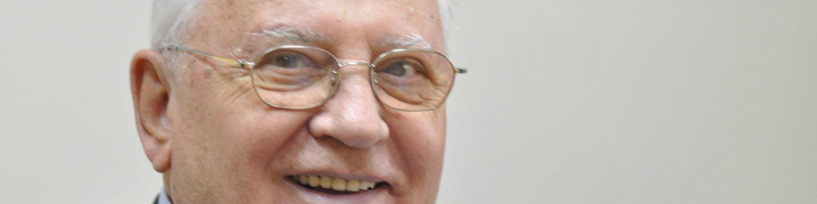 Michail Gorbatschows Appell: Bedrohungen endlich  gemeinsam bekämpfen